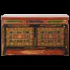 Fine Asianliving Antieke Tibetaanse Kast Handgemaakt Traditioneel B88xD40xH52cm