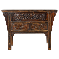 Antique Chinese Console Table Handcarved W120xD48xH86cm