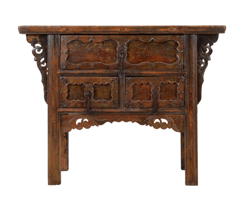 Antique Chinese Console Table Handcarved W106xD48xH85cm