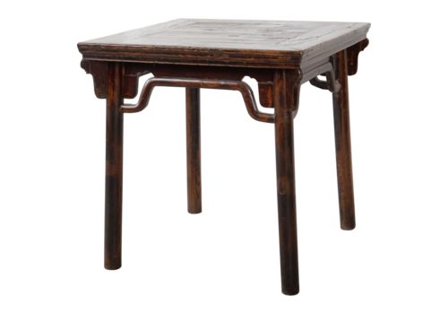 Fine Asianliving Antieke Chinese Sidetable B80xD80xH81cm