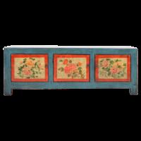Antieke Chinese Kast Handgeschilderd B153xD41xH56cm