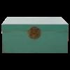 Fine Asianliving Antieke Chinese Kist Pine Groen Glossy B93xD60xH43