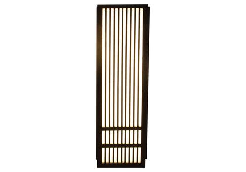 Fine Asianliving Japanse Wandlamp Shoji Zwart Kazuno B8xD15xH50cm