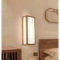 Japanse Wandlamp Shoji Naturel Akita B12xD20xH50cm