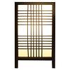 Fine Asianliving Japanse Lamp Shoji Zwart Ishikari B15xD15xH25cm