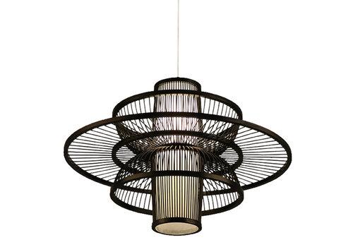 Fine Asianliving Ceiling Light Pendant Lighting Bamboo Handmade - Nicholas
