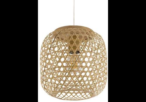 Fine Asianliving Pendelleuchte Hängelampe Bambus Webbing Handgefertigt Sakiya D25xH30cm