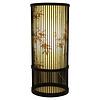 Fine Asianliving Bamboe Tafellamp Zwart Elijah D18xH42cm