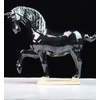 Fine Asianliving Keramiek Chinese Tang Dynastie Paard Zwart Handgemaakt B41xD15xH41cm