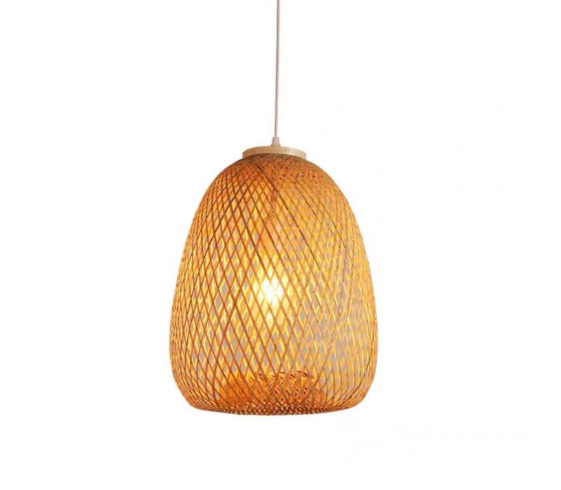 Bamboe Webbing Hanglamp Tania D30xH40cm