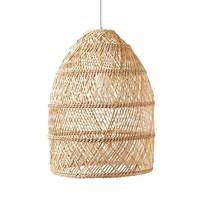 Bamboe Webbing Hanglamp Evelia D34xH56cm
