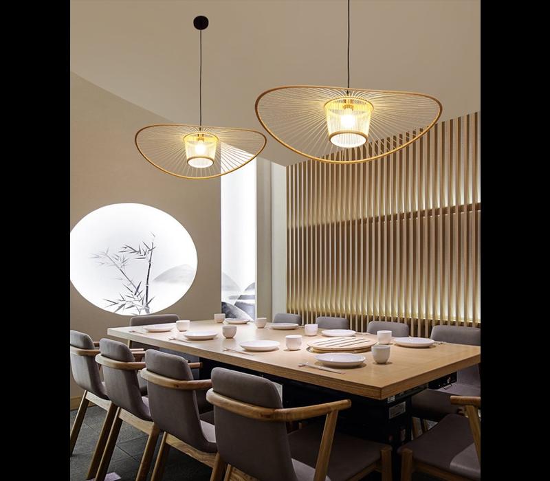 Bamboe Hanglamp Elenoire D70xH16cm