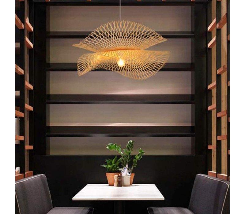 Bamboo Pendant Light Kyra D55xH32cm