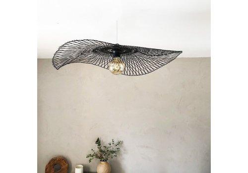 Fine Asianliving Bamboo Hanging Lamp Black Lionel D65cm