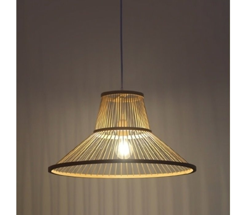 Bamboe Hanglamp D50xH22cm Millie