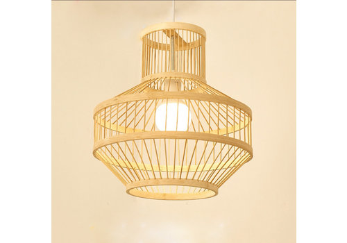 Fine Asianliving Bamboo Pendant Light D34xH35cm Maggie