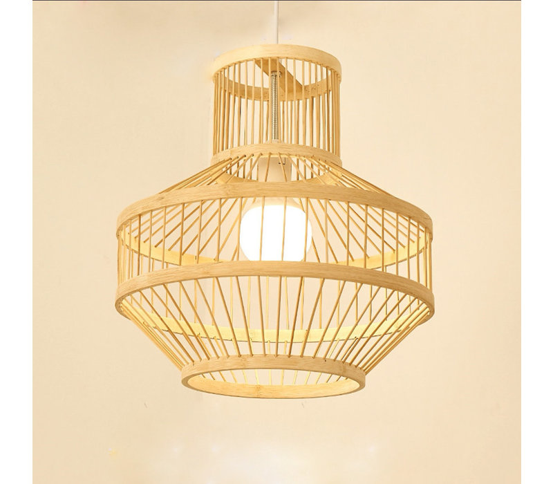 Bamboe Hanglamp D34xH35cm Maggie