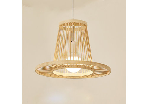 Fine Asianliving Bamboo Pendant Light D35xH23cm Maryn