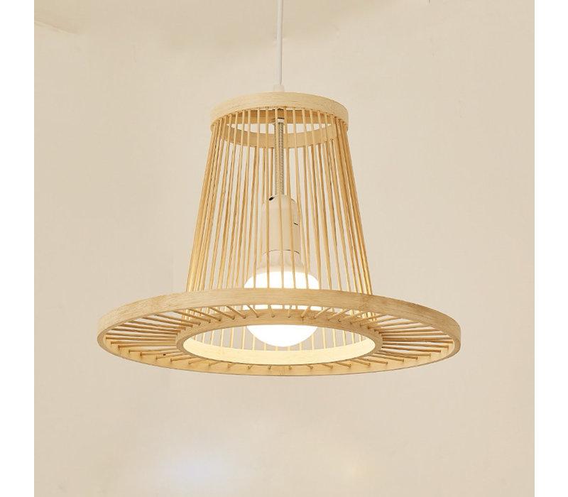 Bamboe Hanglamp D35xH23cm Maryn