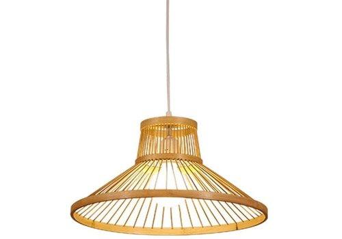 Fine Asianliving Bamboo Pendant Light D50xH22cm Millie