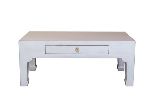 Fine Asianliving Chinese Salontafel Pastel Grijs - Orientique Collection B110xD60xH45cm
