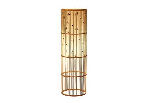 Fine Asianliving Bamboe Vloerlamp Handgevlochten - Sylvie