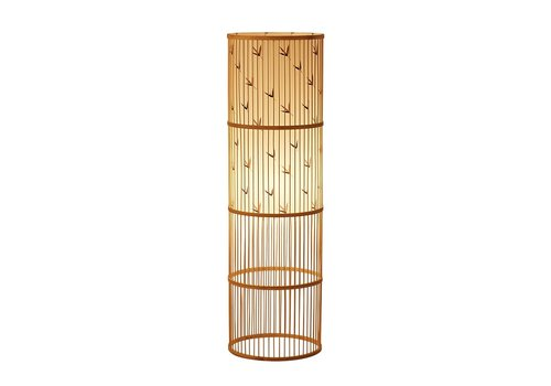 Fine Asianliving Floor Lamp Bamboo Handmade - Sylvie
