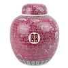 Fine Asianliving Chinese Gemberpot Rood Handgeschilderd Double Happiness D21xH25cm