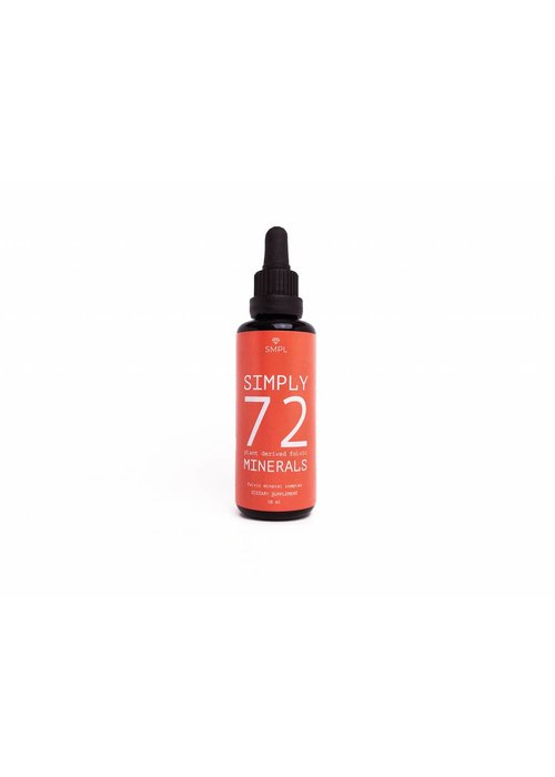SMPL SMPL 72 Plant derived fulvic minerals 50 ml