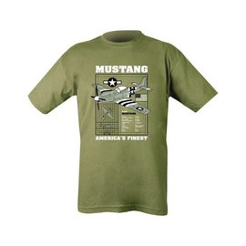Kombat Mustang T-shirt - Olive Green