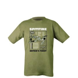 Kombat Spitfire T-shirt - Olive Green
