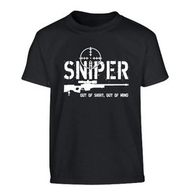 Kombat Kids Sniper T-shirt - Black