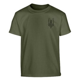 Kombat Kids SAS T-shirt - Olive Green