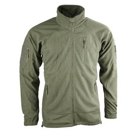 Kombat Delta Tactical Grid Fleece - Olive Green