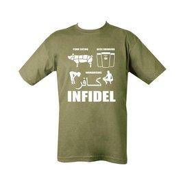 Kombat Pork (Infidel) T-shirt - Olive Green