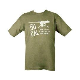 Kombat 50 Cal T-shirt - Olive Green