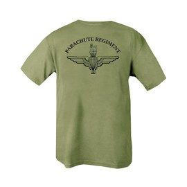 Kombat Parachute Regiment T-shirt - Olive Green