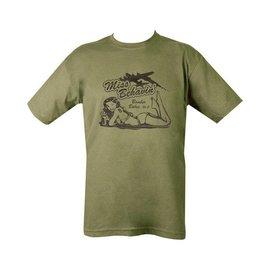 Kombat Miss Behavin' T-shirt - Olive Green