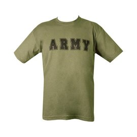 Kombat Army T-shirt - Olive Green