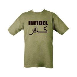 Kombat Infidel T-shirt - Olive Green