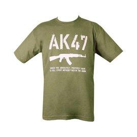 Kombat AK47 T-shirt - Olive Green