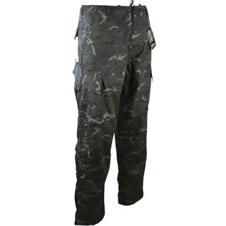 Kombat Assault Trouser - ACU Style - BTP Black