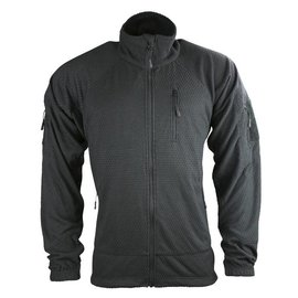 Kombat Delta Tactical Grid Fleece - Black