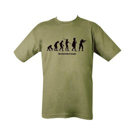 Kombat Evolution T-shirt - Olive Green