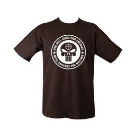Kombat God Will Judge T-shirt - Black