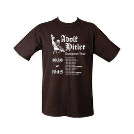 Kombat Hitler's European Tour T-shirt - Black