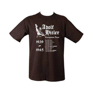 Kombat Hitler's European Tour T-shirt - Black
