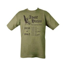 Kombat Hitler's European Tour T-shirt - Olive Green