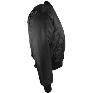 Kombat MA1 Bomber Jacket - Black