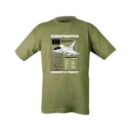 Kombat Typhoon T-shirt - Olive Green